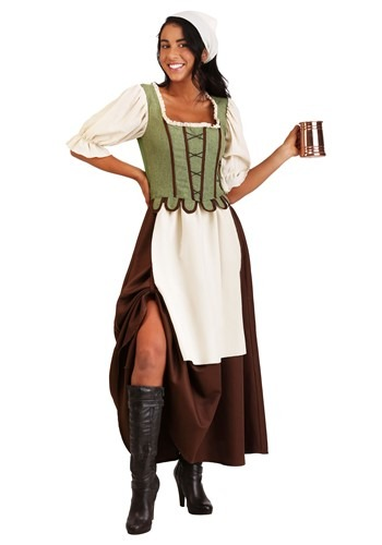 Women's Medieval Pub Wench Costume