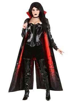 Women's Goth Vampiress Costume