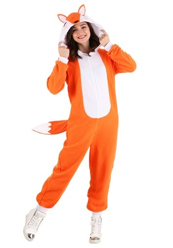 Adult's Cozy Fox Costume