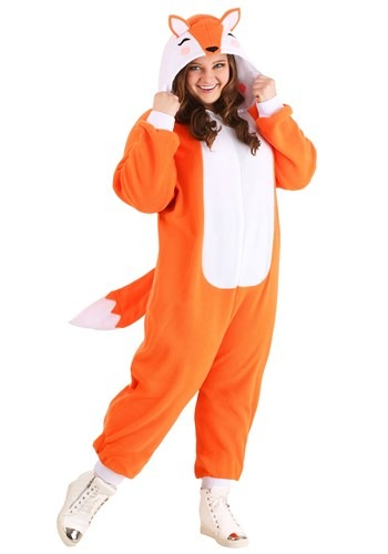 Cozy Fox Costume for Plus Size
