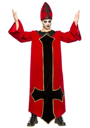 Men's Evil Bishop Costume
