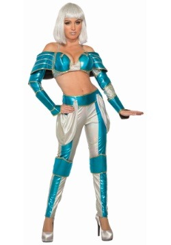 Women's Space Warrior Queen Costume