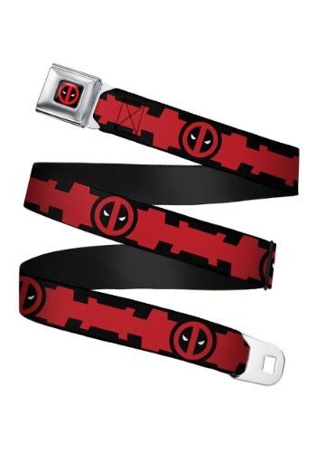 Marvel Deadpool Utility Belt Seatbelt Buckle Belt