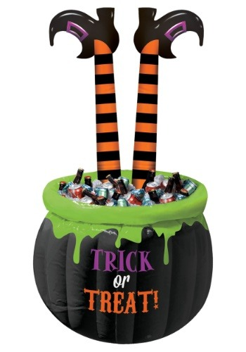 Inflatable Witch Legs Cooler