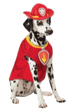 Paw Patrol Marshall The Fire Dog Pet Costume