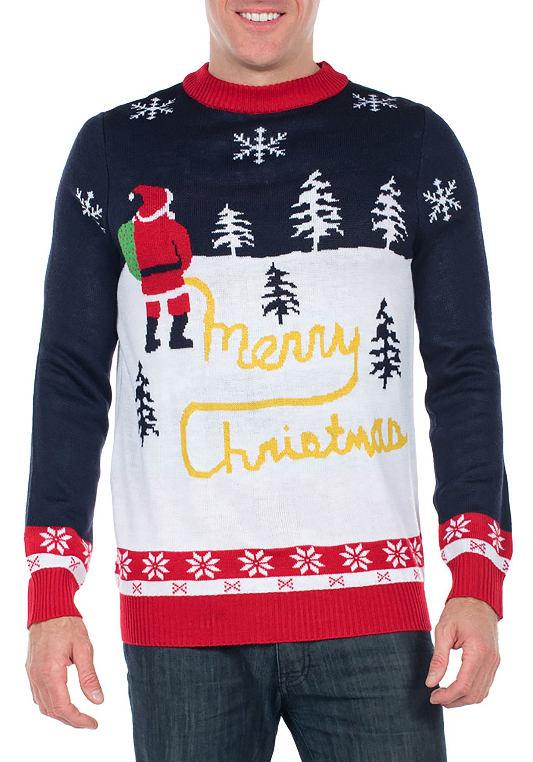 Ugly Christmas Sweater Men.Men S Tipsy Elves Yellow Snow Ugly Christmas Sweater