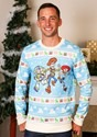 Toy Story Light Blue Ugly Christmas Sweater for Adults