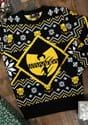 Black Panther Wakanda Black/Gold Intarsia Knit Ugly Sweater