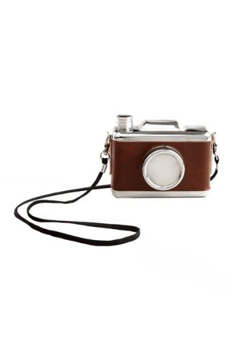 Snap Shot Camera Flask