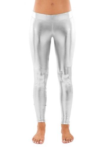 Tipsy Elves Women's Silver Leggings