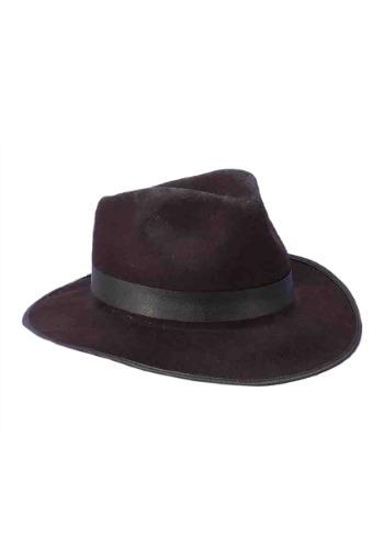 Black Gangster Adult Hat