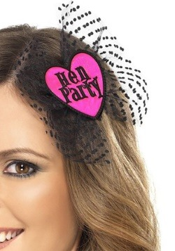 Hen Party Hair Clip