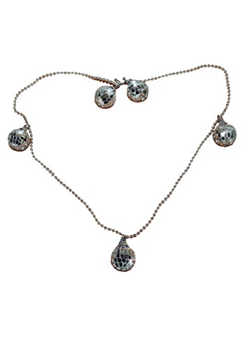 Disco Ball Necklace
