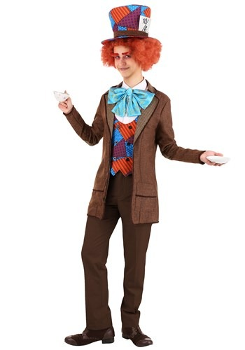 Adult Wild Mad Hatter Costume