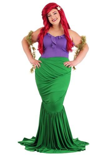 Plus Size Women's Undersea Mermaid Costume