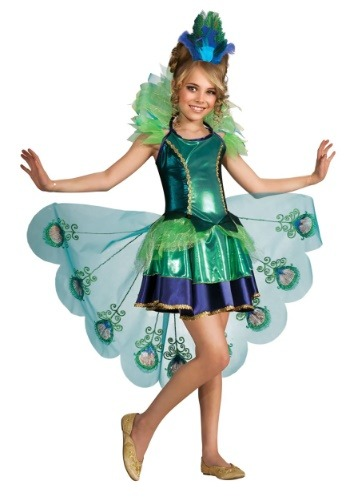 Peacock Child's Costume