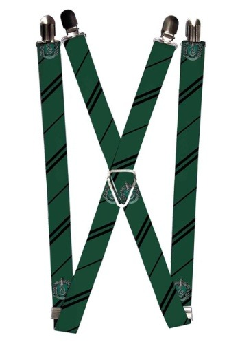 "Harry Potter Slytherin 1"" Suspenders"