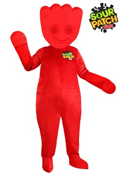 Red Sour Patch Kids Adult Costume