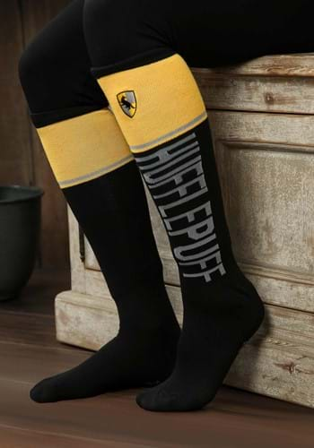 Women's Harry Potter Hufflepuff Knee High Socks