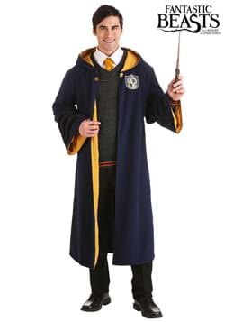 Vintage Harry Potter Hogwarts Hufflepuff Adult Robe update1
