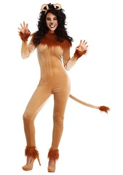 Fierce Lion Costume Women's