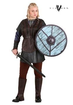 Vikings Women's Plus Size Lagertha Lothbrok Costume