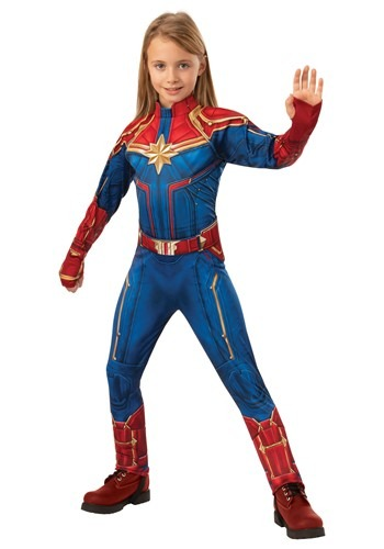 Deluxe Captain Marvel Child Costume