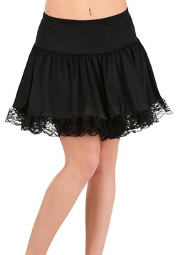 Women's Black Lace Petticoat