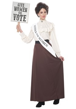 Women's English Suffragette Costume