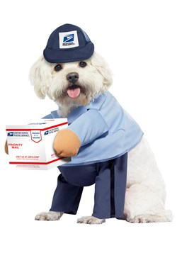 USPS Dog Mail Carrier Costume