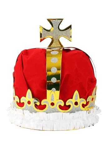 Deluxe Red Kings Crown