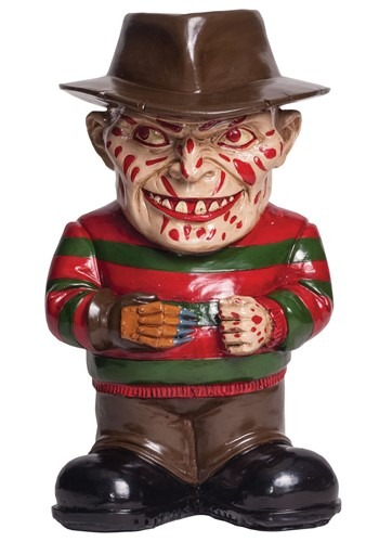 Nightmare on Elm Street Freddy Krueger Lawn Gnome