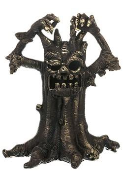Small Spooky Light Up Tree Figurine