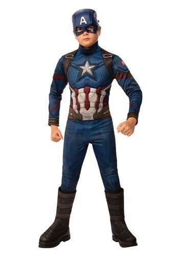 Avengers: Endgame Deluxe Boys Captain America Costume