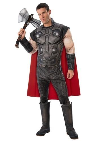 Deluxe Avengers Endgame Men's Thor Costume