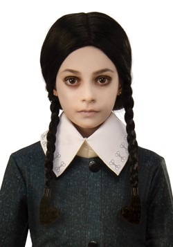 The Addams Family Child Wednesday Wig Accessory