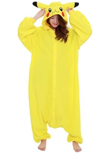 Pokemon Adult Pikachu Kigurumi
