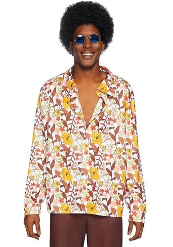 Men's 70's Floral Shirt