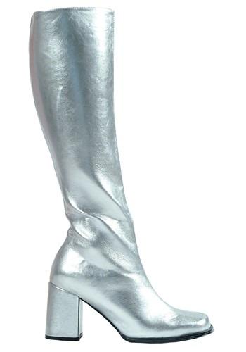 Women's Silver Gogo Boots