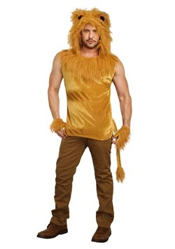 Men's King of the Jungle Lion Costume