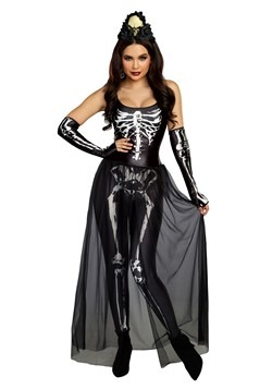Women's Bare Bone Babe Costume