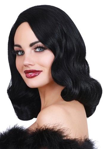 Hollywood Black Glamour Wig
