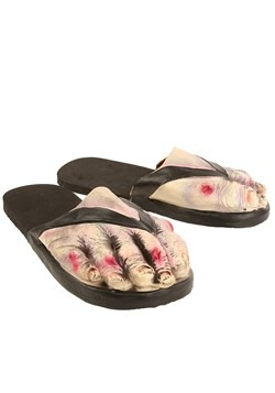 Adult Zombie Feet Sandals