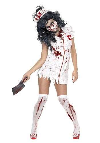 Women's Zombie Nurse Costume