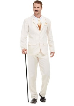 Adult Roaring 20s White Costume