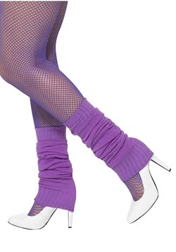 Purple Legwarmers