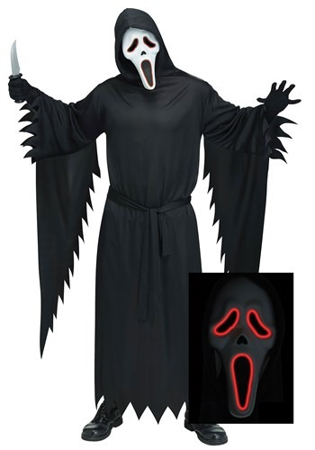E.L. Ghost Face Costume Adult Plus Size 1