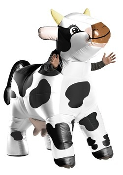 Adult's Inflatable Cow Costume