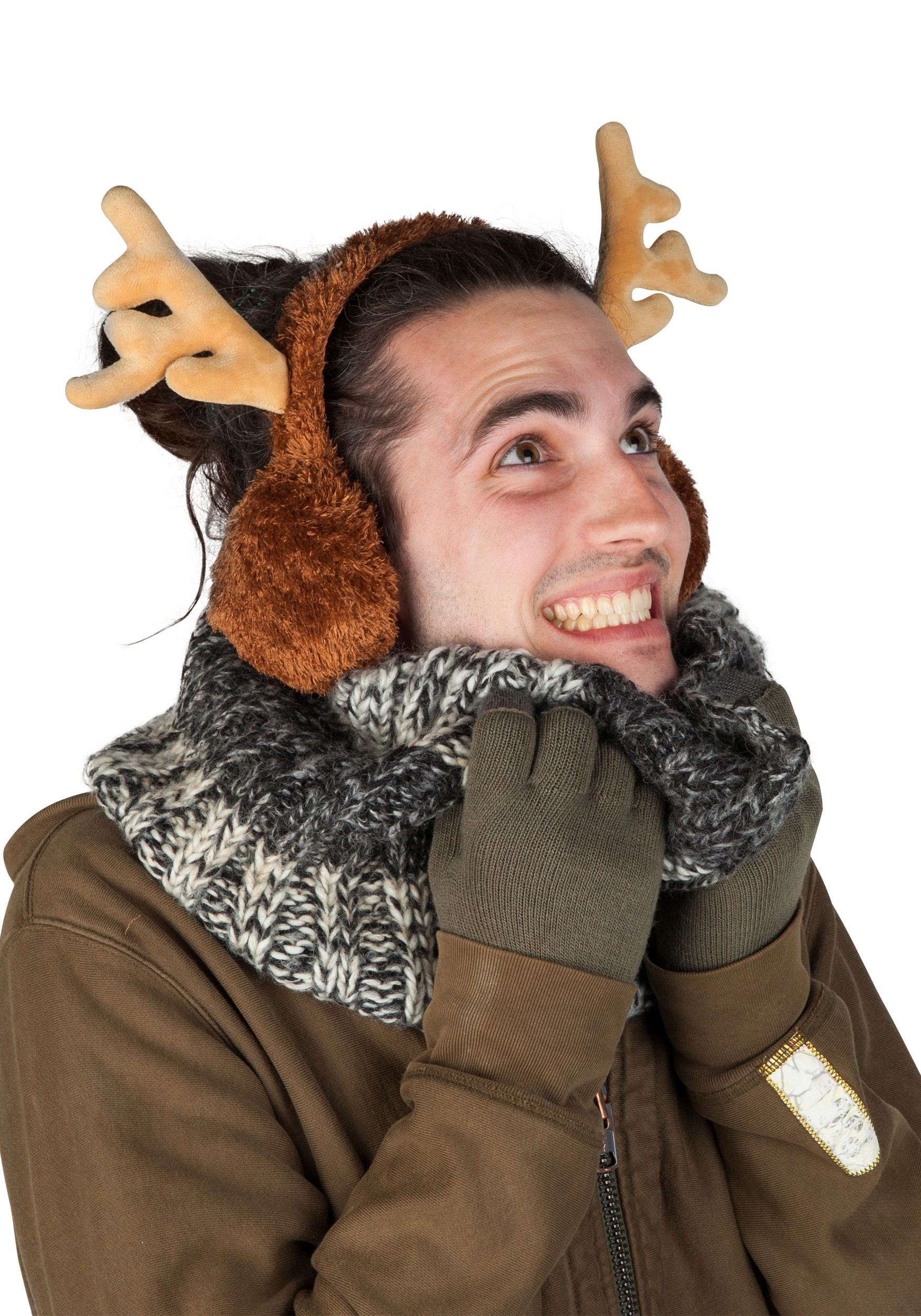 Adult's_Reindeer_Ear_Muffs