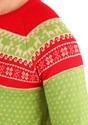 Adult Christmas Llama Unizex Ugly Sweater alt7